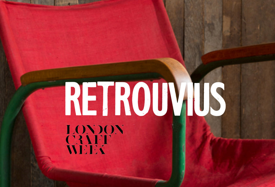 Retrouvious at London Craft Week | Reuse and Sustainability