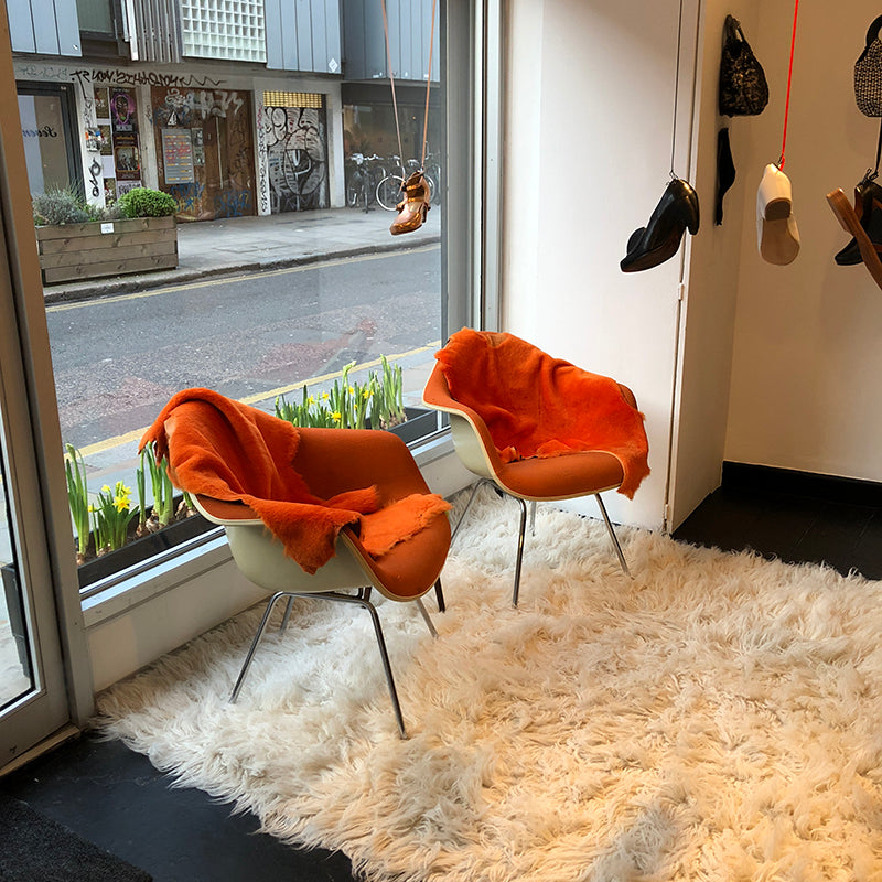 Ray Eames Chairs at Redchurch Street