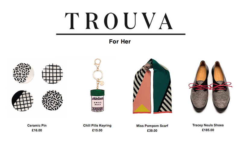 Tracey Neuls Featured in TROUVA |