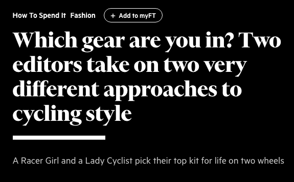 """Which Gear Are Your In"" 
