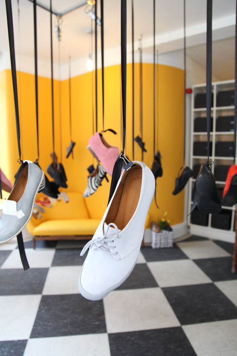 Tracey Neuls | The original Shoe Designer | Shoes Hanging From The Ceiling