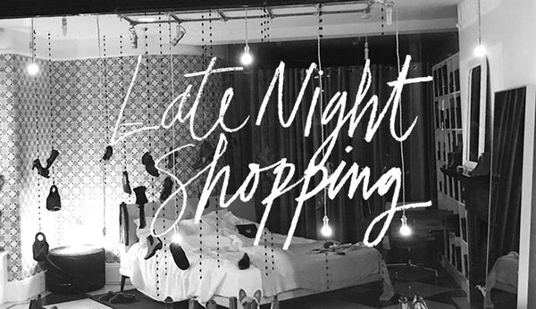 Tracey Neuls Marylebone | Late night shopping | Thursday 16th November