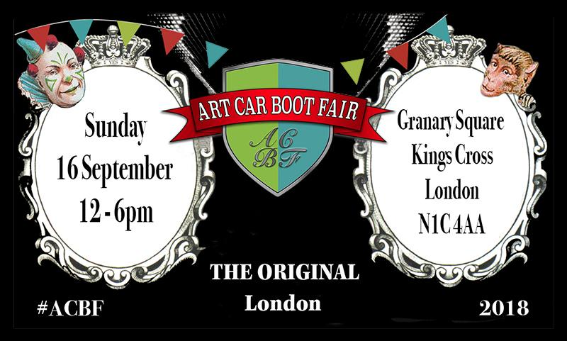 Art Car Boot Fair 2018 Tracey Neuls