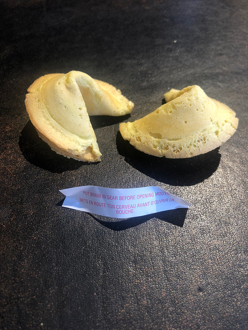 Fortune Cookie at Tracey Neuls Coal Drops Yard Chinese New Year