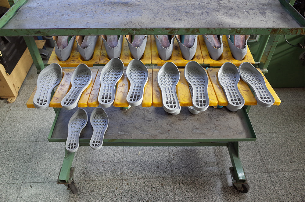 Production Where Tracey Neuls Leather Shoes are made in Portugal