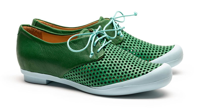 Tracey Neuls Green Grass Geek Sneakers for Women