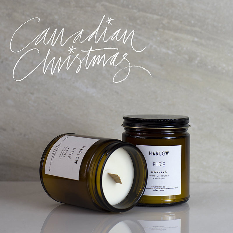 Harlow Skin Co Winter Candles only at Tracey Neuls London, Best Gift For Christmas 2018