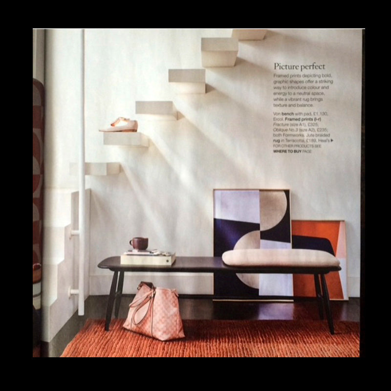 Interior Shot with Shoes by Tracey Neuls in House Beautiful Magazine