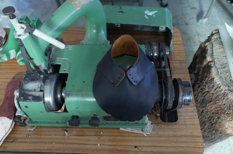 Process of Tracey Neuls shoes being made