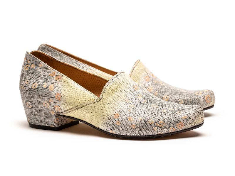 A pair of luxury designer leather loafers for women by Tracey Neuls