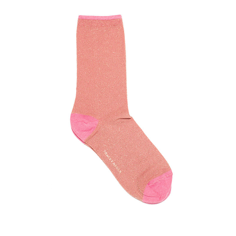 Best Christmas Stocking Fillers, Luxurious Glitter Socks by Tracey Neuls London Designer