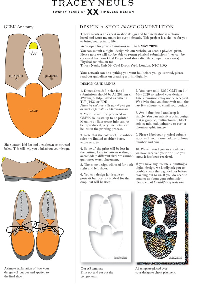 Tracey Neuls Design a Shoe Competition