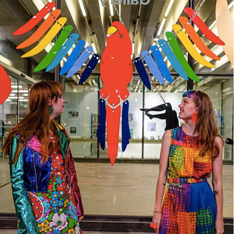Tatty Devine jewellery designers exhibition at London's Central Saint Martins gallery