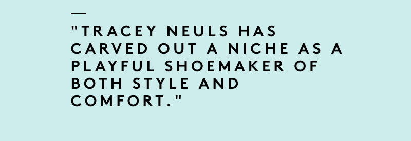 Interview With Shoe designer Tracey Neuls in The Peninsulist