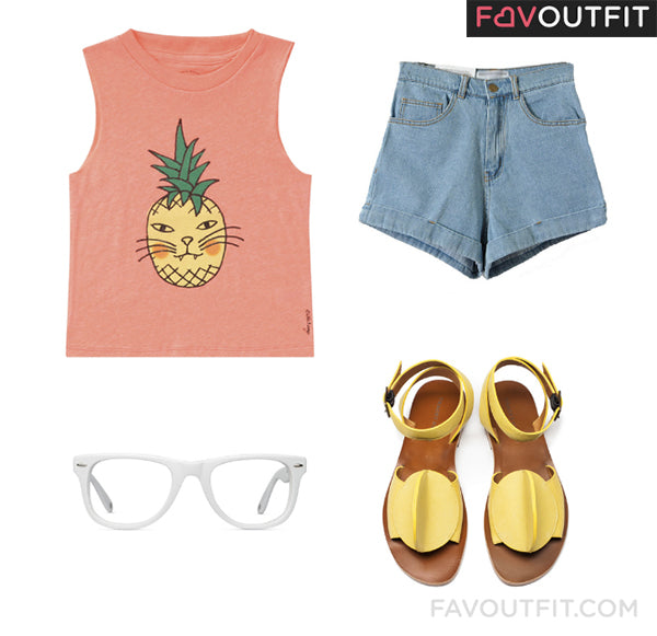 Style Story FavOutfit Tracey Neuls Bling Sun Sandals