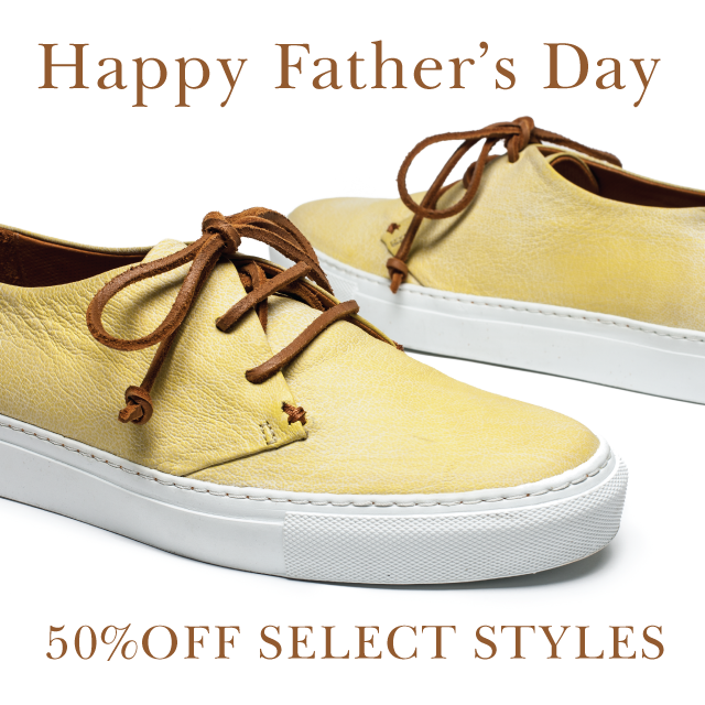 Father's Day Gift Ideas, Yellow Shoes