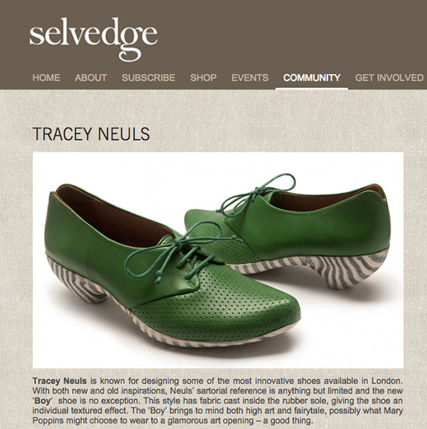 selvedge - Tracey Neuls