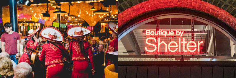 Festive events including a Mexican market and shelter homeless charity boutique at London's Coal drops yard