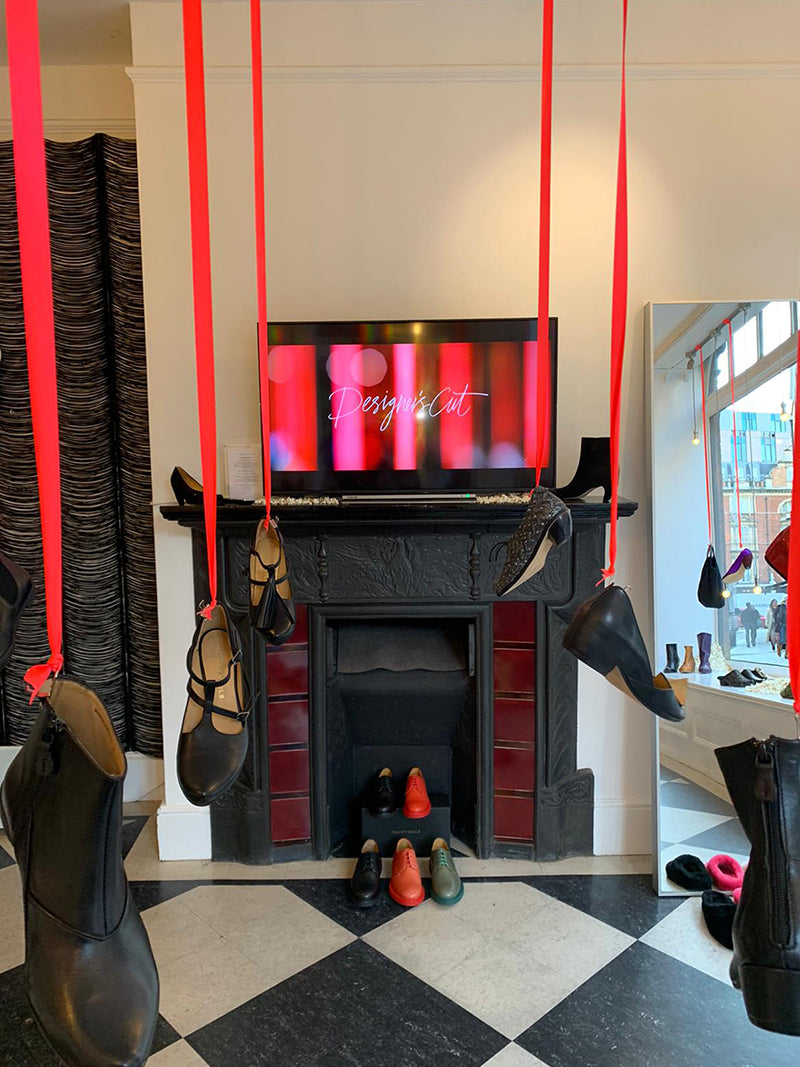 Tracey Neuls Marylebone, popcorn installation and designer's cut