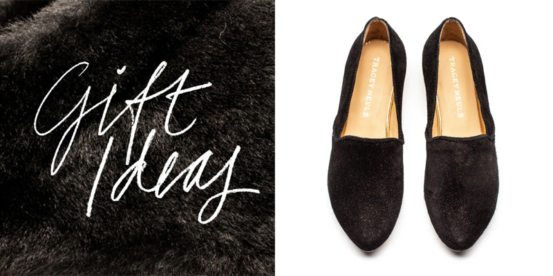 gift ideas, black loafer shoes for women