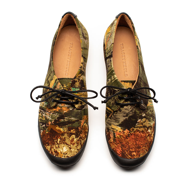 Tracey Neuls 1960's Sanderson Fabric Geek Limited Edition Shoe