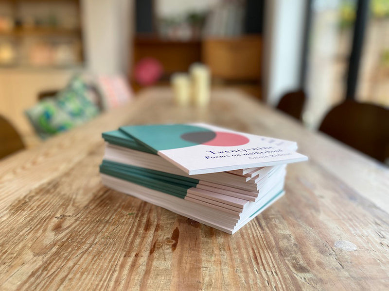 stack of twenty-nine: poems on motherhood books