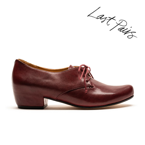 CUSCUS Port | Burgundy Leather Shoe