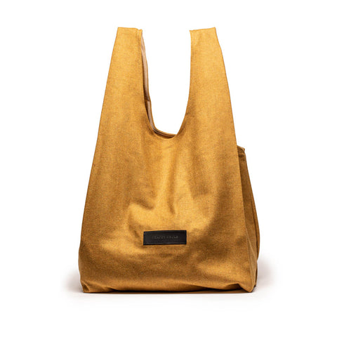 SHOPPER Mustard | Wool Carry All
