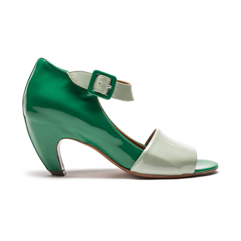 Green Patent Leather High Heel