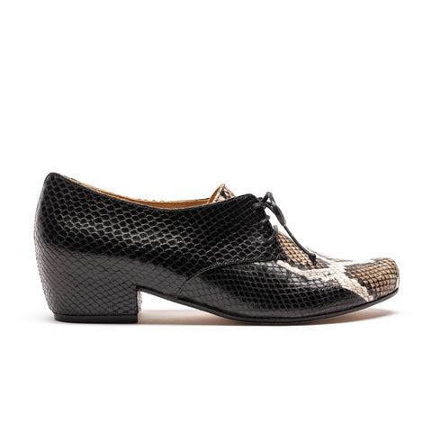 CUSCUS Snake Stripe | Snakeskin Leather Shoes | Tracey Neuls