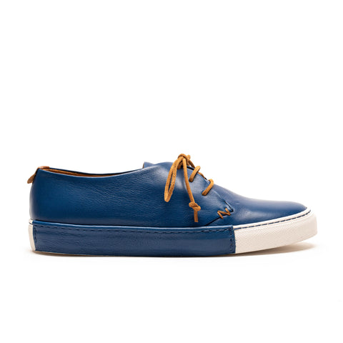 DALTON Klein | Mens Blue Leather Sneaker | Tracey Neuls