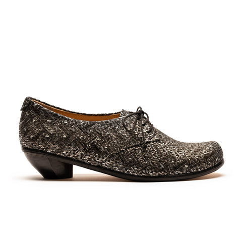 DENIS Mosaic | Leather Mid Heel Shoe | Tracey Neuls