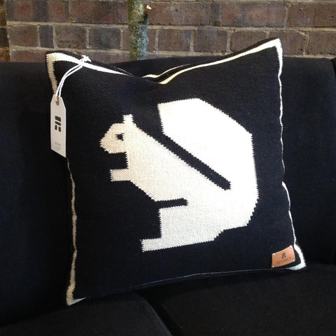 Squirrel cushion by Eeuwes Design at Tracey Neuls London