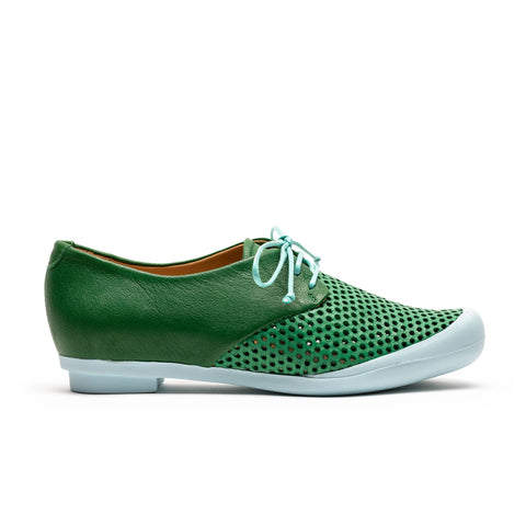 GEEK Grass | Green Perforated Sneaker