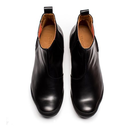 GEORGE CHELSEA BOOT black leather *IS BACK*