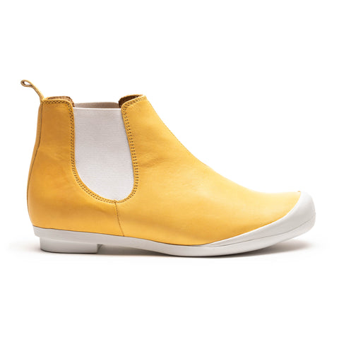 GEORGE Dijon | Yellow Chelsea Boot | Tracey Neuls