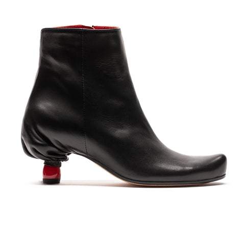 Grayson Black | Leather Ankle Boot | Tracey Neuls