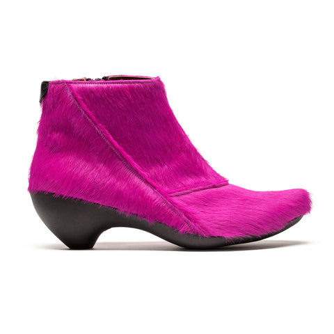 GINGER_Pink Pony_Mid Heel Ankle Boot