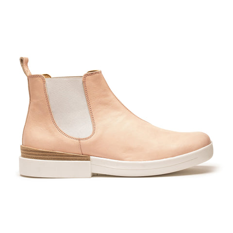 JON | Women's Rose Pink Leather Chelsea Boot | Tracey Neuls