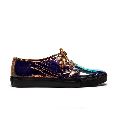 KARL ECLIPSE_Multi Colour Patent Leather_Men's Sneaker