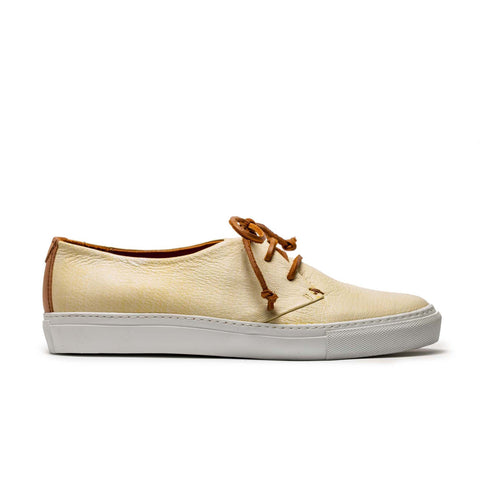 JIMMY_MARGARITA_Yellow Leather Sneaker