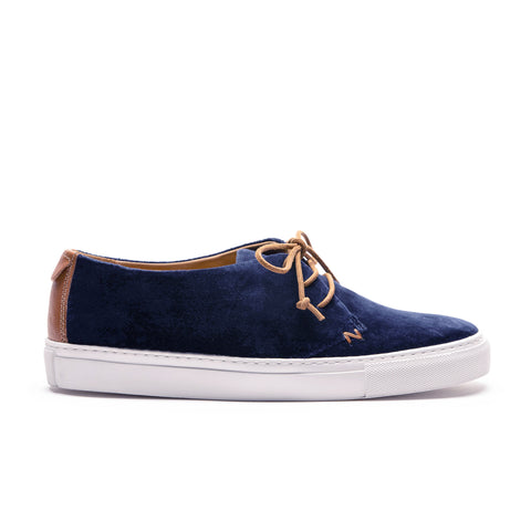 KARL Midnight | Navy Velvet Men's Sneaker
