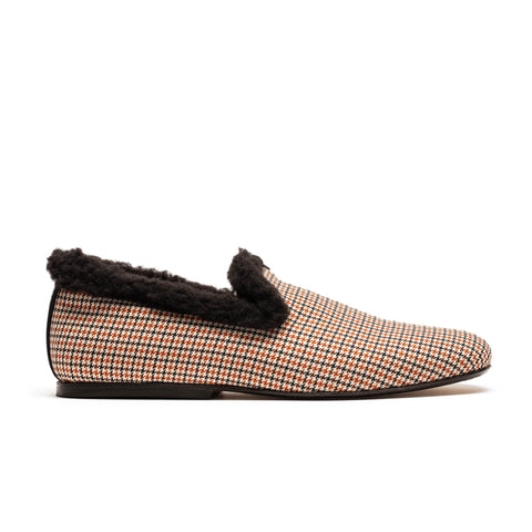 LOAFER Gramps | Houndstooth Slip On | Tracey Neuls