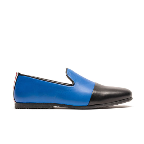 LOAFER Royal Blue | Leather Loafer | Tracey Neuls