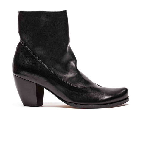 MANUELA Smoke | Black Ankle Boot | Tracey Neuls