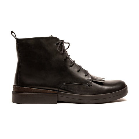 OLI Black | Black Lace Up Boot | Tracey Neuls