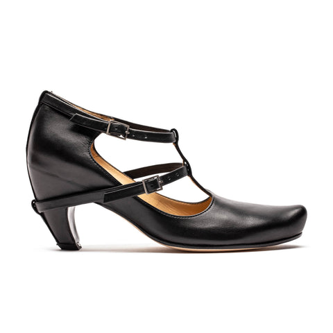 PENNY Black | Leather High Heels | Tracey Neuls