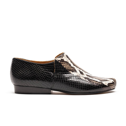 SING Snake Stripe | Snakeskin Leather Shoe | Tracey Neuls