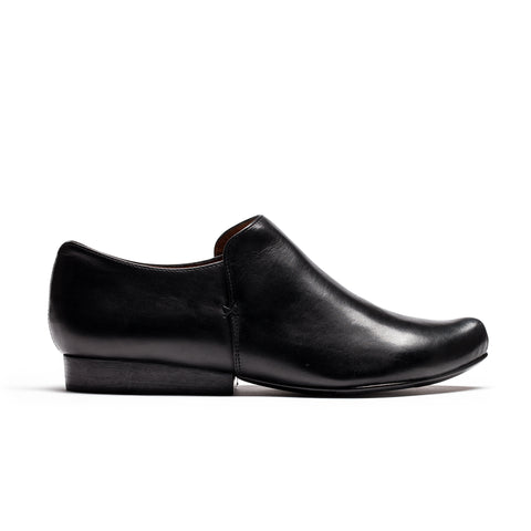 SING Smoke | Black Leather Shoe