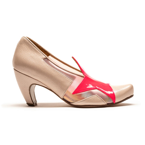 ZIGGY Spritz | Pink Patent Leather Star PVC High Heel | Tracey Neuls